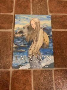 Memories Of Emanon Volume 1 English Manga Shinji Kajio Rare FREE SHIPPING