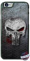The Punisher Skull Logo Superhero Phone Case fits iPhone Samsung Google LG etc.