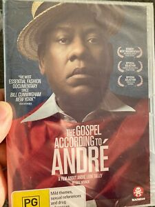 The Gospel According To Andre NEW/sealed region 4 DVD (2018 fashion documentary)