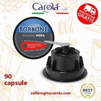 90 Cialde Capsule Caffè Borbone Miscela Nera Compatibili Dolce Gusto Nescafè