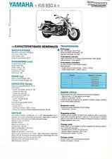 yamaha XVS 650 A 2004 fiche technique revue technique moto DRAGSTAR 650