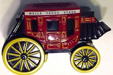 Coin Piggy Bank Wells Fargo & Union Trust Co Cast Iron Stage Coach 1998