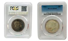 MS65 PCGS Kennedy Half Dollar United States Silver Coin 1964D UNC # 202 From 1$