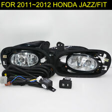 Bumper Fog Lights Lamp For Honda JAZZ FIT 2011 ~ 2012 /1Pair with Bulbs+Switch
