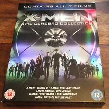 Xmen The Cerebro Collection All 7 Films Blu-ray