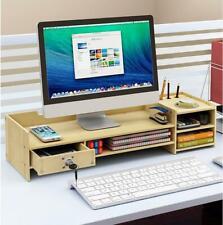 DIY Office White Desk Organizer Pen File Holder Storage Computer Desktop Tray
