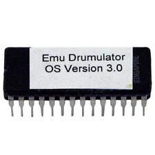 Emu E-Mu Drumulator OS Version 3.0 firmware OS update EPROM
