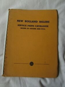 @New Holland Balers Model 66-Engine & PTO-Service Parts Catalogue@
