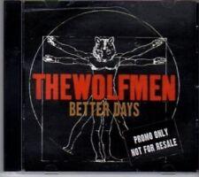 (BU725) The Wolfmen, Better Days - 2008 DJ CD