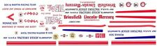 SOX & MARTIN '64 Comet NHRA 1/43rd Scale Slot Car Waterslide Decals