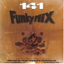Funkymix 141 CD Ultimix Records Eminem,Nicki Minaj,