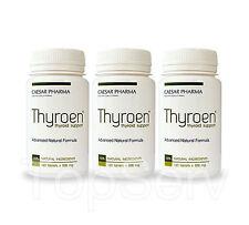 3 THYROEN Support Healthy Thyroid Function Energy Metabolism Best Supplement !!!