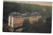 bagnoles-de-l'orne  hôtel des thermes  ,vue prise du parc