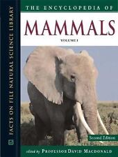 The Encyclopedia of Mammals (Facts on File Natural Science Library)(3-ExLibrary