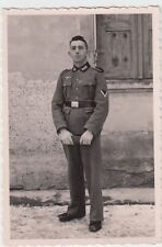 (F927) Orig. Foto Portrait Wehrmacht-Soldat, 1940er