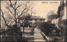 cartolina FIESOLE villa medici