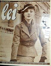 * lei N° 51/ 16/DIC/1952 * Rivista di moda *