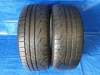 2x Winterreifen Reifen Pirelli Sottozero 225 45 R18 95V Runflat DOT 3315 *4,5mm*