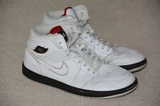 Nike Air Jordan 1 Retro Cinco de Mayo White High Tops Basketball Shoes Size 11