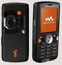 BLACK SONY ERICSSON WALKMAN W810i GSM WALKMAN BAR CELL PHONE ROGERS CHATR MP4