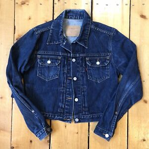 Vintage 1980s Levis 507xx Style Type 2 Denim Jacket Made In USA Medium
