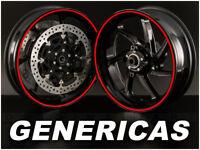 Pegatinas para llantas de moto GENERICAS, Vinilos 100% compatibles con Suzuki