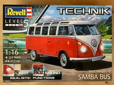 """+++ Revell Technik 00455 Volkswagen T1 """"Samba Bus"""" 1:16 00455"""