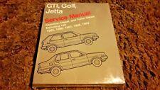 Volkswagen Service Manuals: Volkswagen GTI, Golf, and Jetta Service Manual NEW