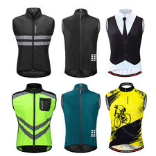 Hombres ciclismo chaleco sin mangas Jersey MTB Mountain Bike Gilet transpirable