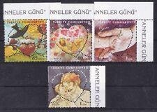 Turchia 2009 Festa della mamma 3487-90 MNH
