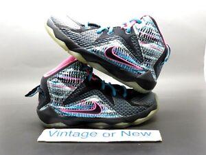 Nike LeBron XII 12 Chromosomes PS Preschool sz 11C