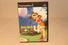 EVERBODYS GOLF 4 SONY PLAYSTATION PS2 NTSC-J JAPAN IMPORT