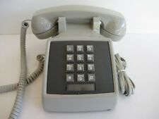 Vintage Original Gray AT&T Western Electric Telephone  2503 works NOS