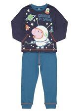 Peppa Pig George Schorsch Wutz Pyjama Schlafanzug Langarmshirt leuchtet 92 98