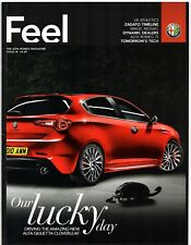 Alfa Romeo Feel Magazine Issue 14 2010 UK Market Brochure Giulietta 75