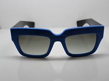 NEW Authentic PRADA SPR 28P SMO-0A7 Blue/Black 51mm Sunglasses