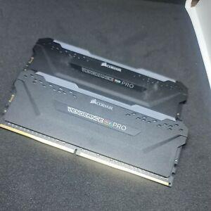 Corsair Vengeance RGB Pro Schwarz 32GB Kit (2x16GB) DDR4-3600 CL18 DIMM