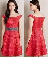 Minette Jacquard Dress Moulinette Soeurs Size 12 NWT Wedding