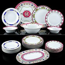 RUSSIAN Imperial Lomonosov Porcelain Table Set Cameos New 6/24 Rare Pink
