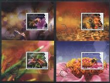 Greece 2018 World Bee Day four Blocks issue. MNH XF