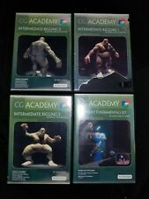 CG Academy Maxscript Fundamentals Intermediate Rigging PC-DVD CAD SOFTWARE