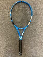 New listing Babolat Pure Drive 2018 STRUNG 4 1/8 (Tennis Racket Racquet 300g 10.6oz 16x19 )