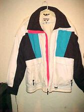 Unisex Head Tyrolia Winter Sport Ski Jacket Color Black White Pink & Blue Size L