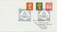 "GB ""WATFORD HERTS –BUSHEY BAPTIST CHURCH CENTENARY YEAR 1970"" Squared Circle"