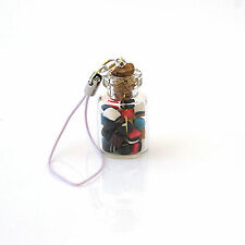 Unbranded Glass Costume Handbag Jewellery & Mobile Charms