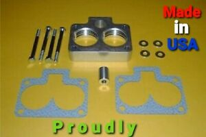 """1992-2003 JEEP GRAND CHEROKEE """"HELIX"""" THROTTLE BODY SPACER 5.2L 5.9L"""