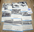 26 1946-48 General Electric Photo News 14x17 Posters, Planes, Trains, Boats etc.