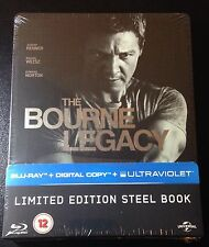 THE BOURNE LEGACY Blu-Ray SteelBook UK Region Free New OOP & Rare! My Last One.