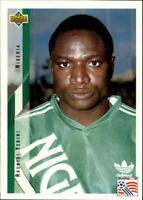 1994 Upper Deck World Cup Contenders Spanish #164 Rashidi Yekini