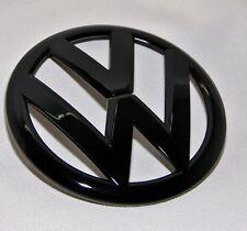 VW GOLF 7 VII GTI, GTD, R Turbo logo caratteri emblema BLACK NERO LUCIDO